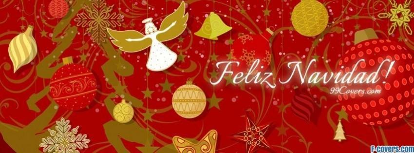 feliz navidad facebook cover