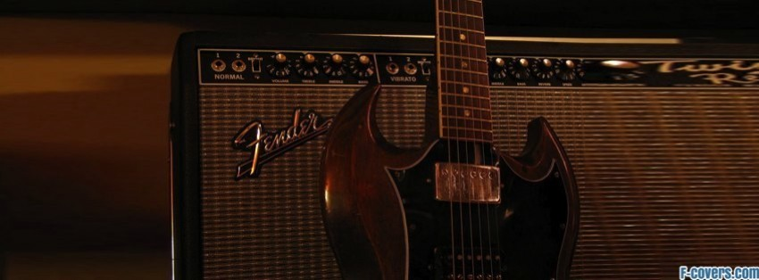 guitar Facebook Cover timeline photo banner for fb Fender Stratocaster Facebook Cover