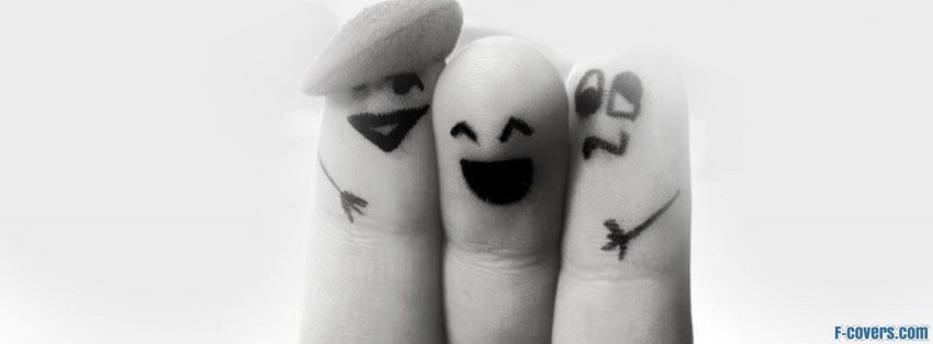 finger friends facebook cover