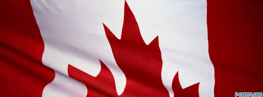 flag of canada facebook cover timeline photo banner for fb
