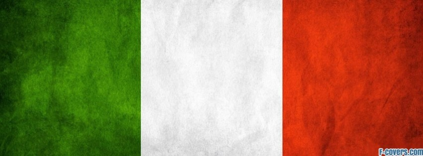 flags italy stripes facebook cover