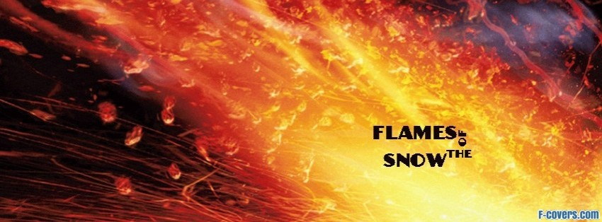 flames of the snow facebook cover