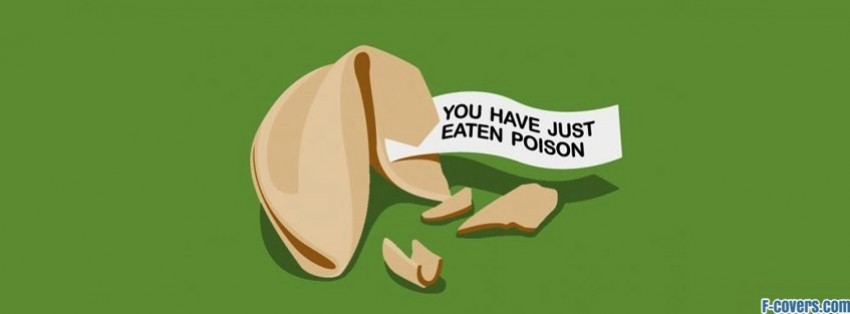 fortune cookie poison facebook cover