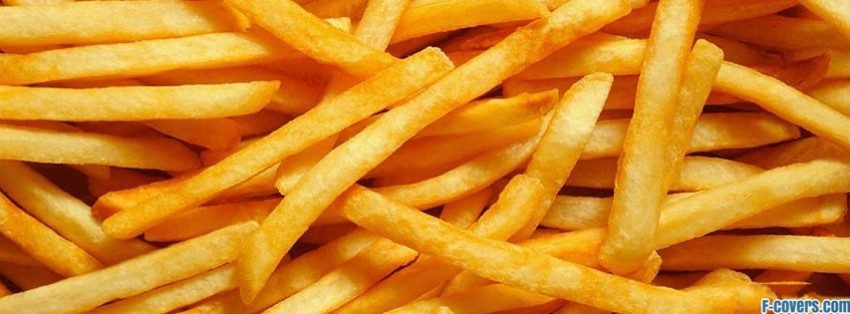 french fries facebook cover