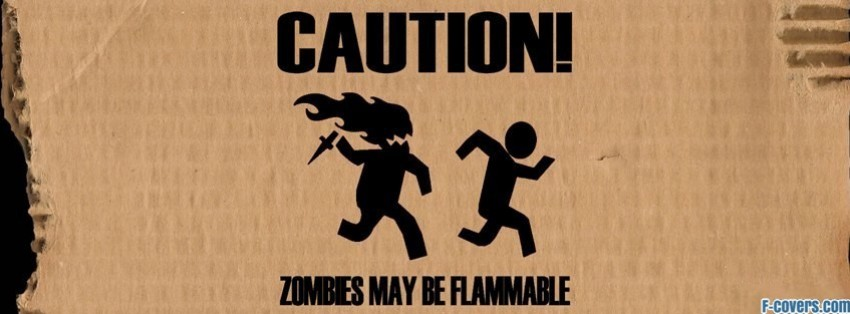 funny zombies facebook cover