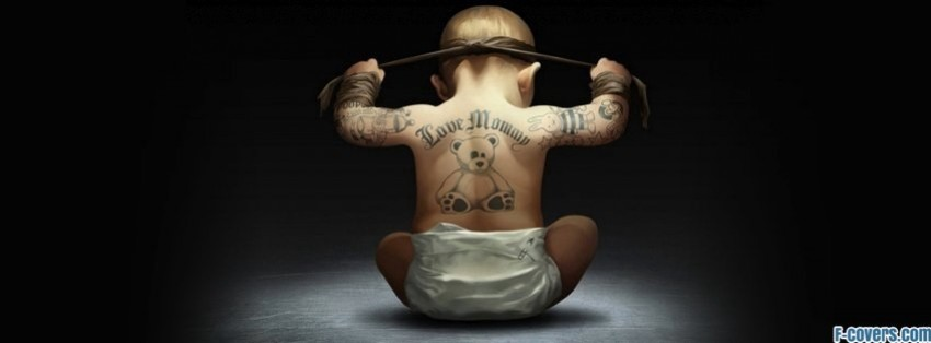 gangsta child facebook cover