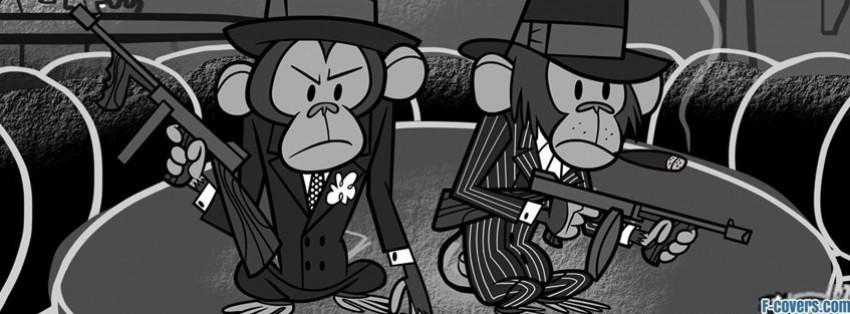 gangsta chimps facebook cover