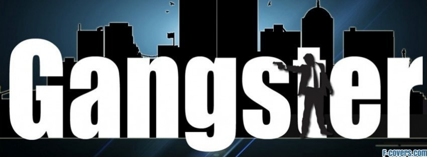 gangster type facebook cover