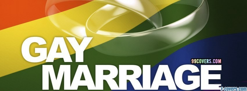 gay marriage facebook cover