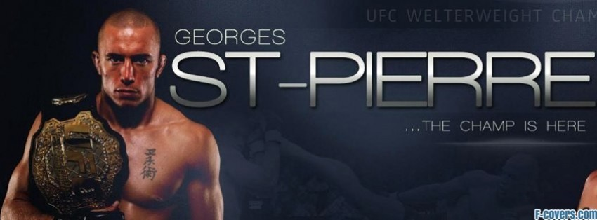 georges st pierre 3 facebook cover