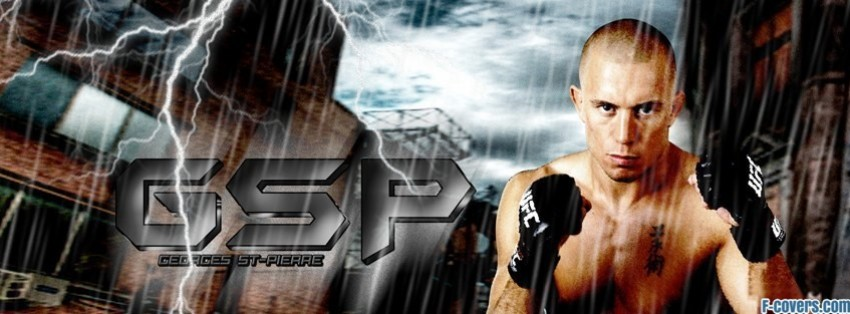 georges st pierre 5 facebook cover