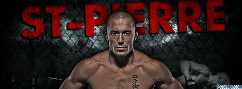 georges st pierre facebook cover timeline photo banner for fb