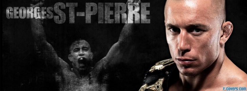 georges st pierre facebook cover