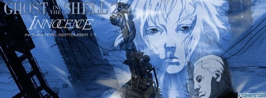 Ghost In The Shell Facebook Cover Timeline Photo Banner For Fb