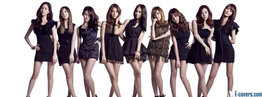 girls generation 3 facebook cover