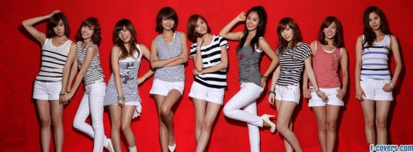 girls generation 6 facebook cover