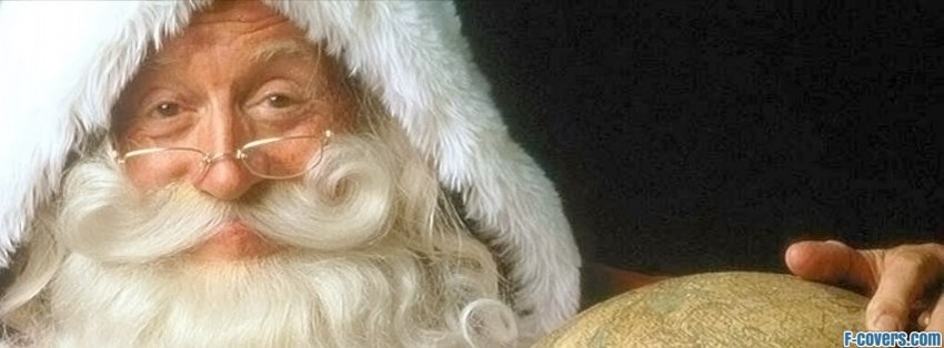 globetrotting santa claus facebook cover