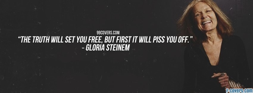 gloria steinem facebook cover