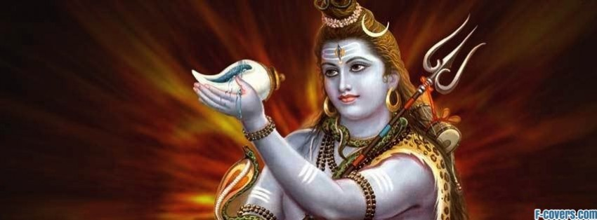 god shiva facebook cover
