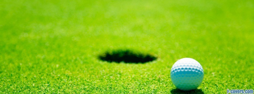 golf ball 2 facebook cover