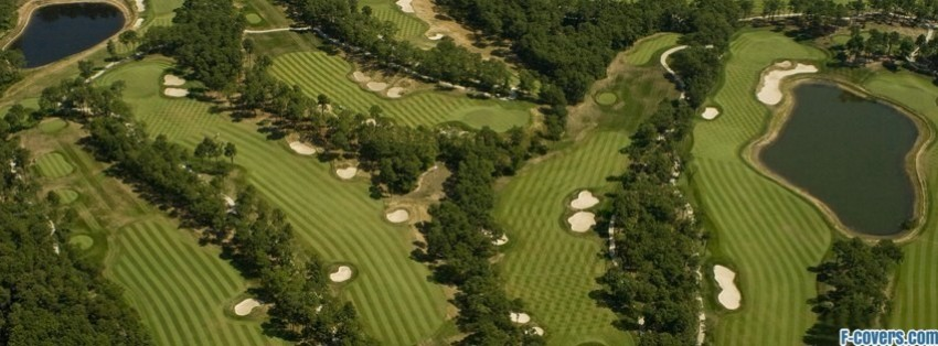golf course arial facebook cover