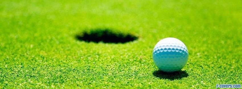 golf hole facebook cover