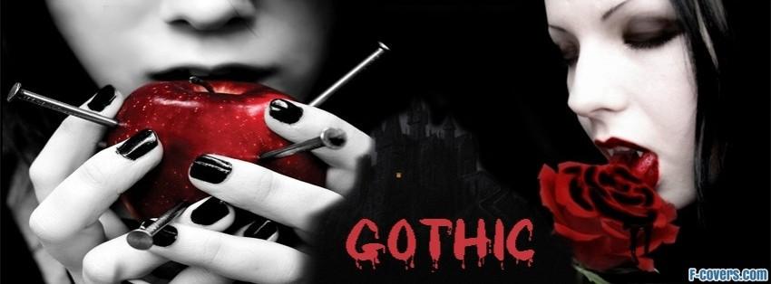gothic facebook cover