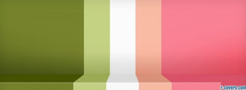 green and pink stripes facebook cover