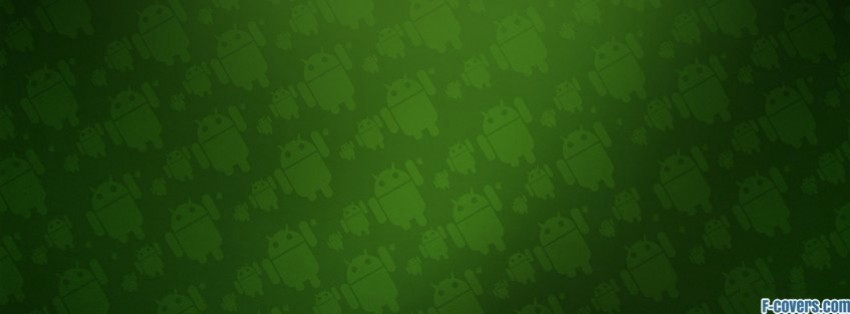 green android pattern facebook cover timeline photo banner for fb