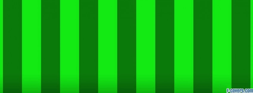 green shades stripes facebook cover
