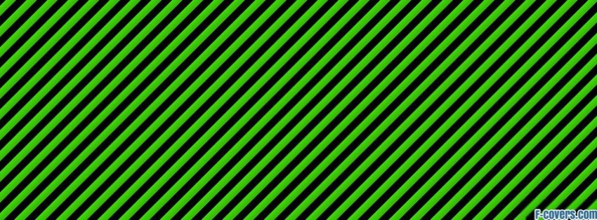 green striped texture facebook cover