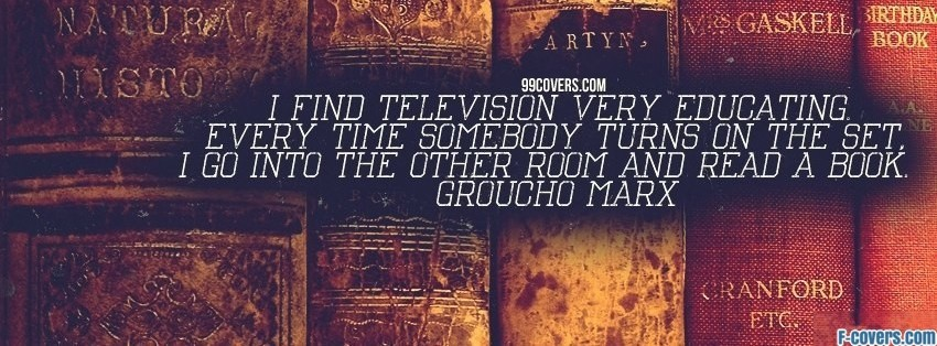 groucho marx television facebook cover