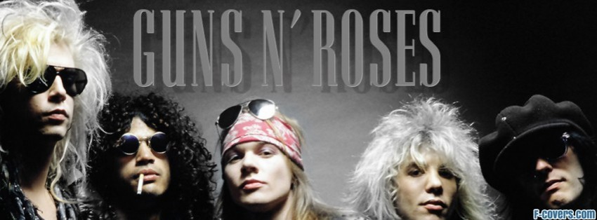 guns n roses facebook cover