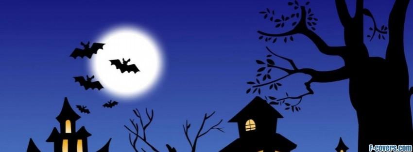 halloween fright night facebook cover - Halloween Facebook Banners