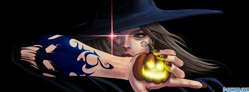 Gallery For > Halloween Witch Facebook Covers