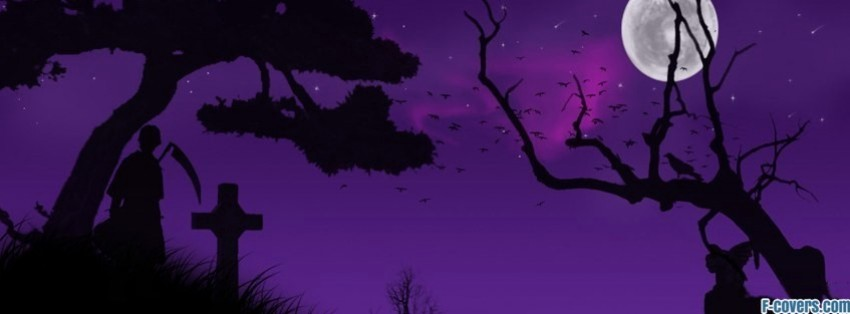 Halloween Night Facebook Cover