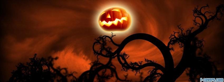 halloween night of ghosts facebook cover - Halloween Facebook Banners