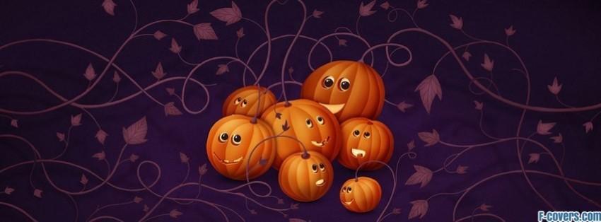 halloween pumpkins 2 facebook cover - Halloween Facebook Banners