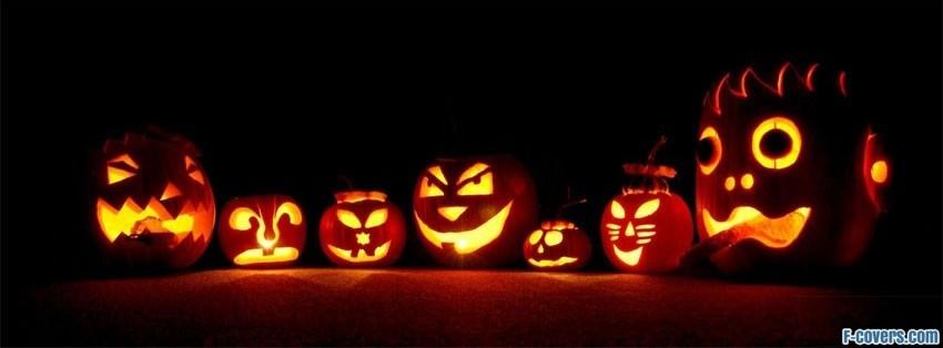 halloween pumpkins facebook cover - Halloween Facebook Banners