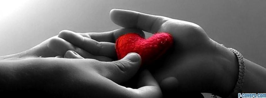 handing you my heart facebook cover
