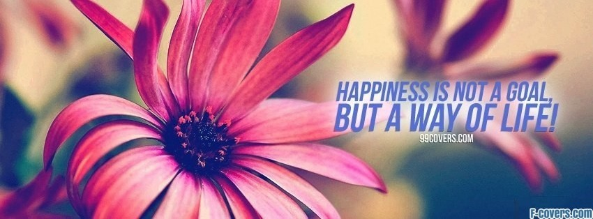 Facebook Cover Photos Quotes About Happiness: Happiness Quote Facebook Cover Timeline Photo Banner For Fb