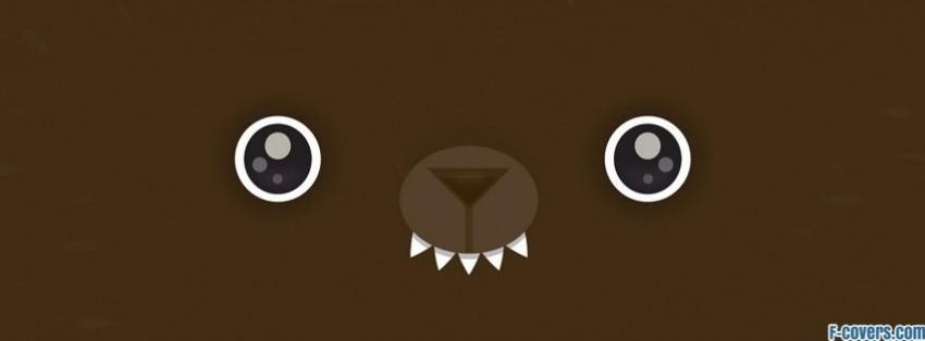 happy bear facebook cover