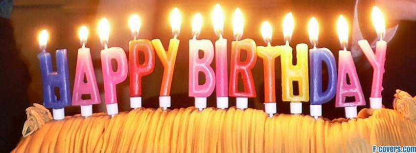 Happy Birthday Keep Calm Facebook Cover Timeline Photo