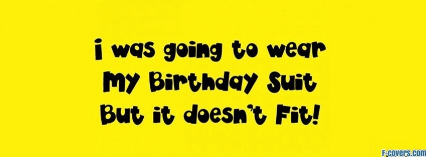 happy birthday suit facebook cover