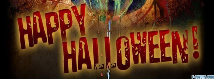 happy halloween facebook cover - Halloween Facebook Banners