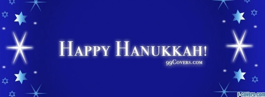 happy hanukkah Facebook Cover timeline photo banner for fb