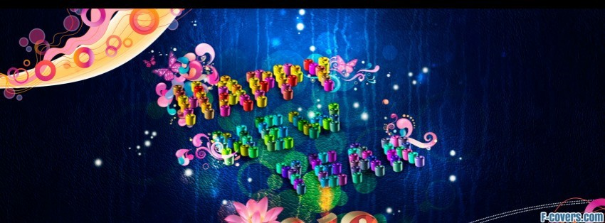 happy new year 2012 by aeli facebook cover