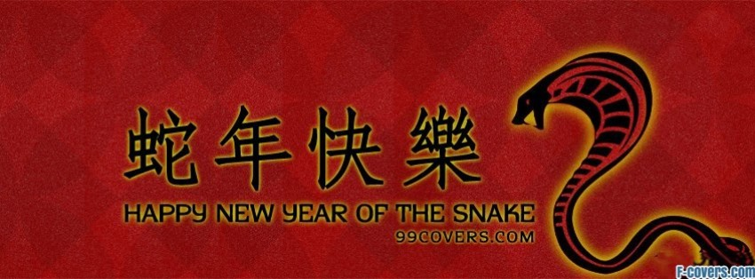 happy new year of the snake facebook cover