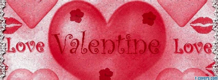 happy valentine Facebook Cover timeline photo banner for fb