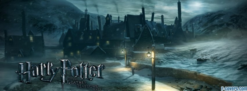 Harry Potter Book Facebook Cover ~ Harry potter and the deathly hallows hogsmeade facebook